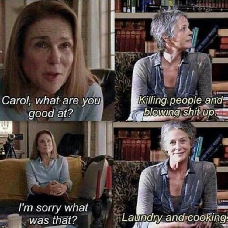 Carol 😂😂😂😂😂😂😂😂😂😂😂😂😂😂