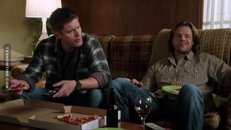 """""""He's more of an animated Japanese erotica chick"""" Sam Winchester, 2016, about his brother Dean."""