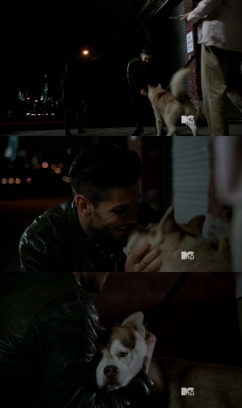 Tommy was so cute! He care more about his dog that his material things