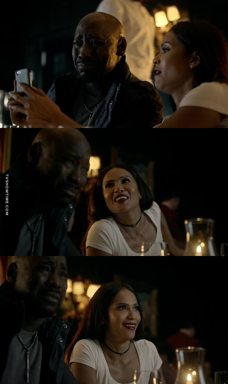 This scene was so hilarious 😂 and Omg Maze is wearing white!