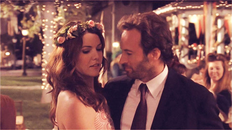 Lorelai and Luke together is perfection!