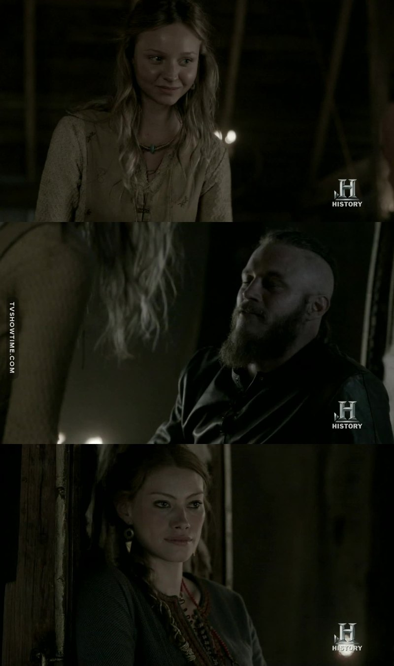 Princess bitch is jealous, I guess she forgot what she did to Lagertha or what 🙂 !!