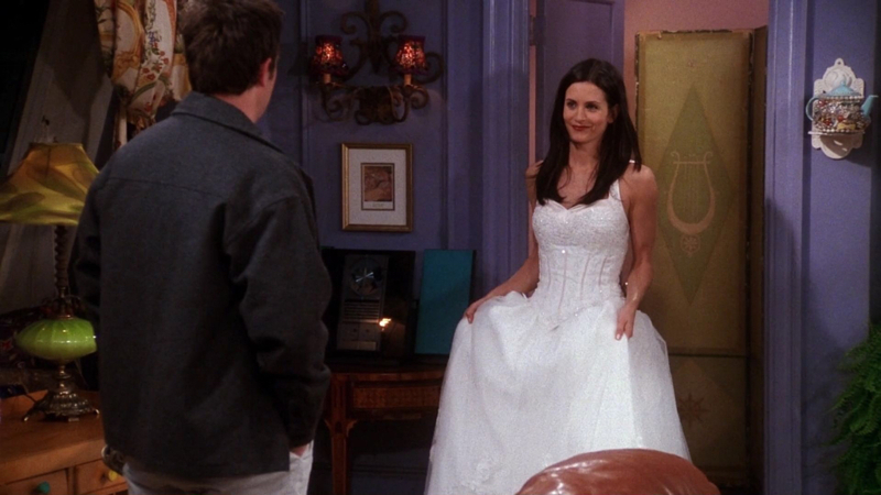 TV Time - Friends S07E17 - The One With The Cheap Wedding Dress ...