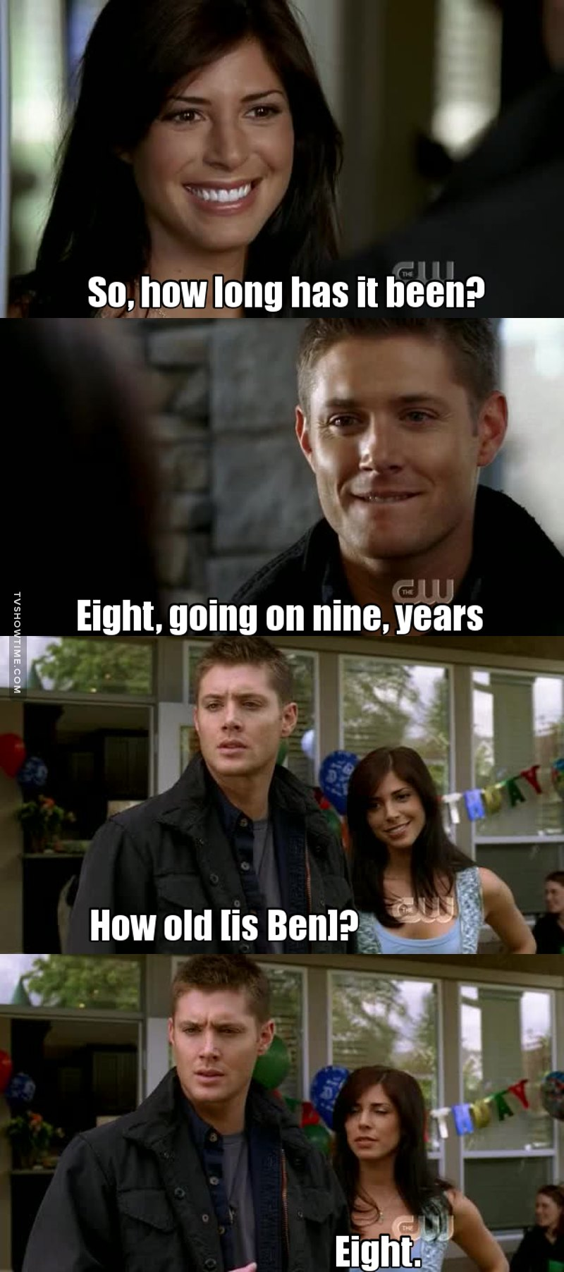 I shall forever believe that Ben is Dean's son 😭😭😭