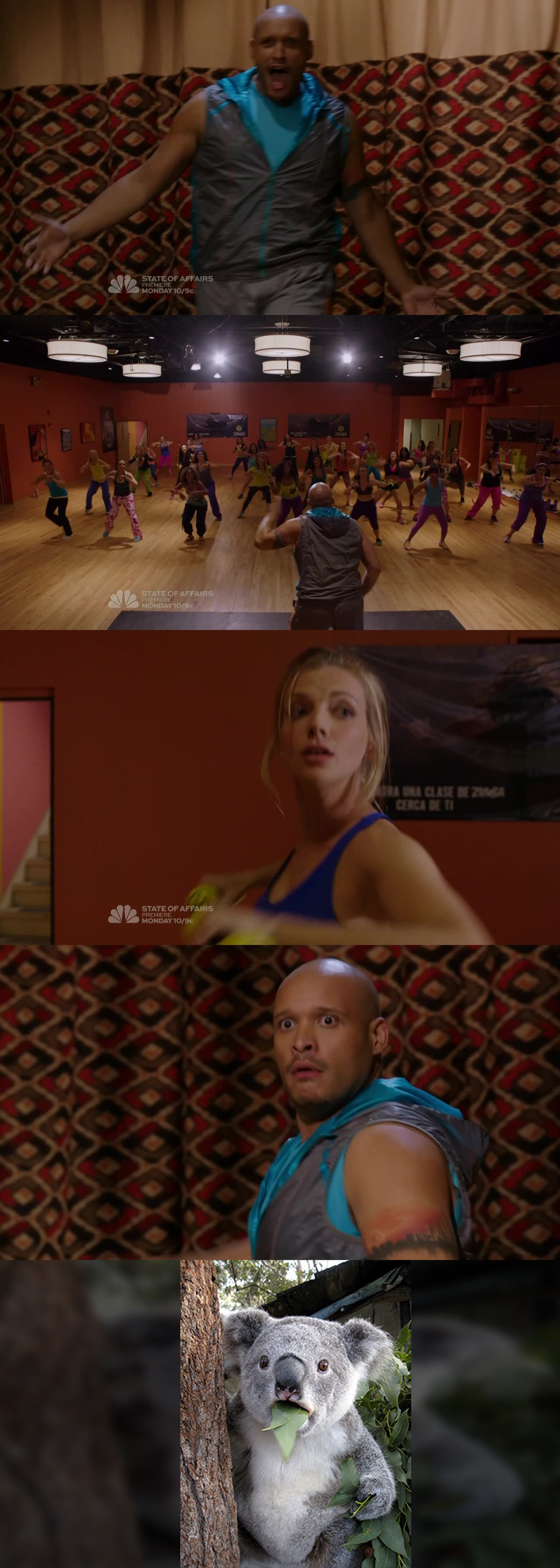 MAN!?!!.....You made laugh so much....Best funny scene!  Cheers to Zumba! ;-)