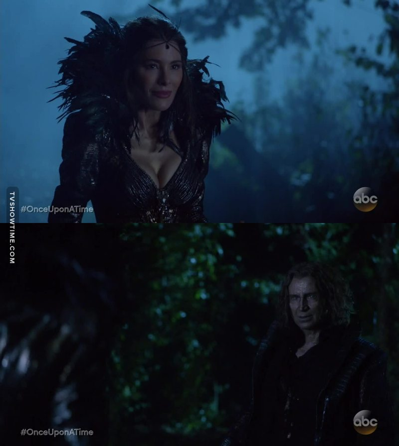 So Rumple is the son of Peter Pan and the Black Fairy?! 😳