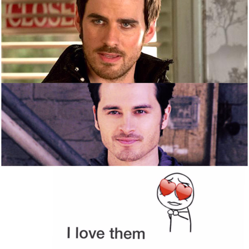 When Hook and Enzo say love with their sexy accents..  Crossover sexy accents!