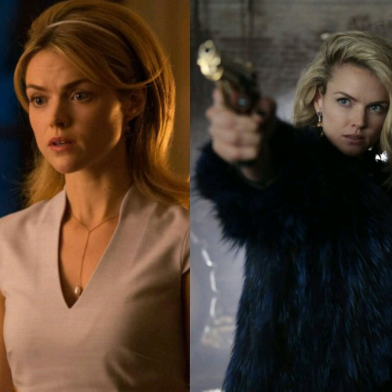 I love the way she went from being a trophy wife with no personality to a badass gangster. Best character development 🙌🙌🙌
