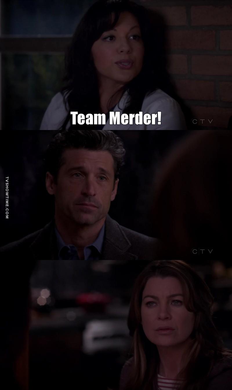 SHONDANÁS, VOCÊ QUE NÃO ME ESTRAGUE O MEU SHIPP!   #teamMerDer