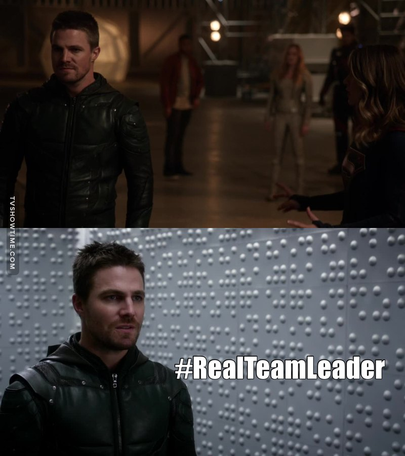 Oliver Queen stole the show!
