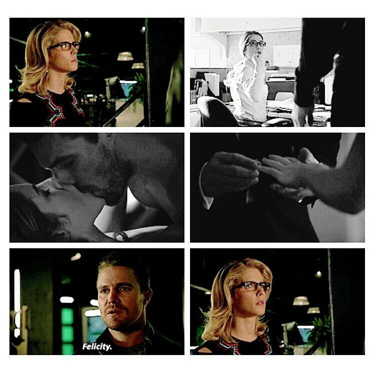 Olicity is real, No matter where, No matter in which alternate reality, No matter when. It'll always be real. ❤😻