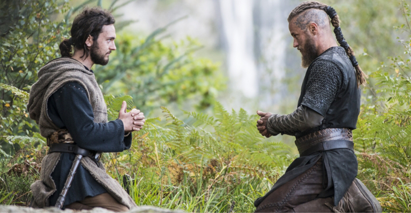 Since he lost Athelstan Ragnar isn't himself