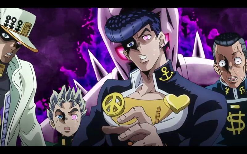 Jojo's Pt4 Diamond is Unbreakable... Pfffff  It's Kira who is Unbeatable with Bite the dust...xD (An Amazing episode !)