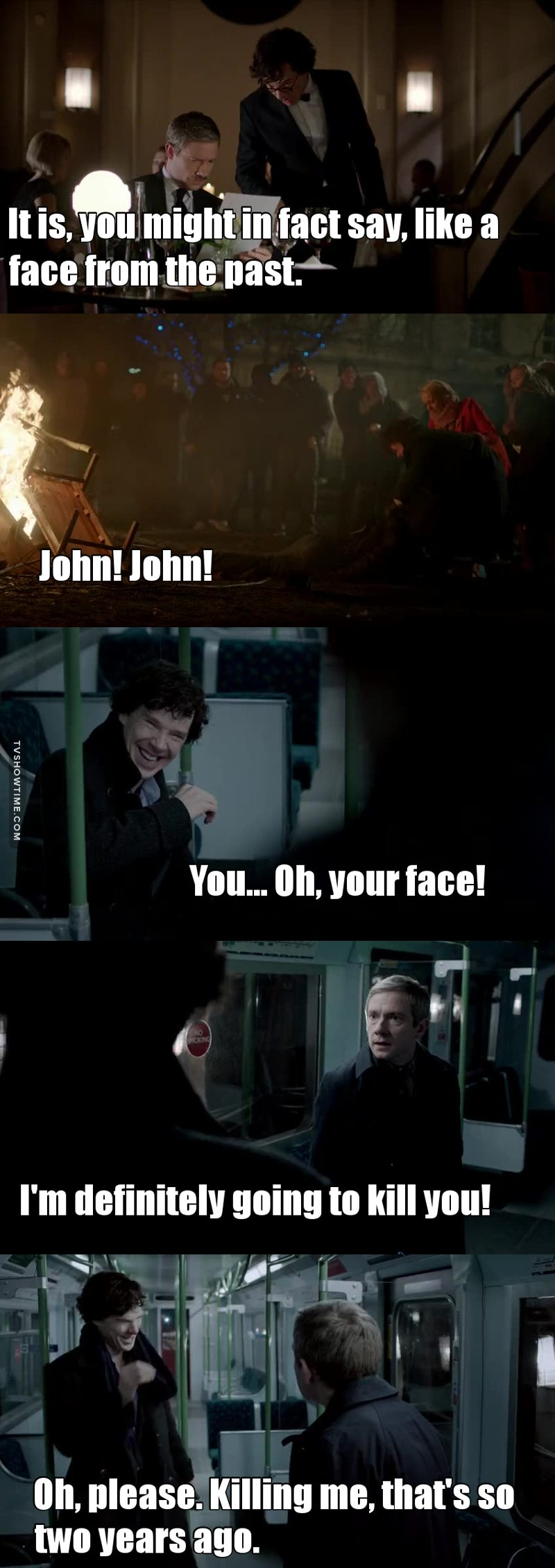 Sherlock is the best and WORST friend EVER !! 😂