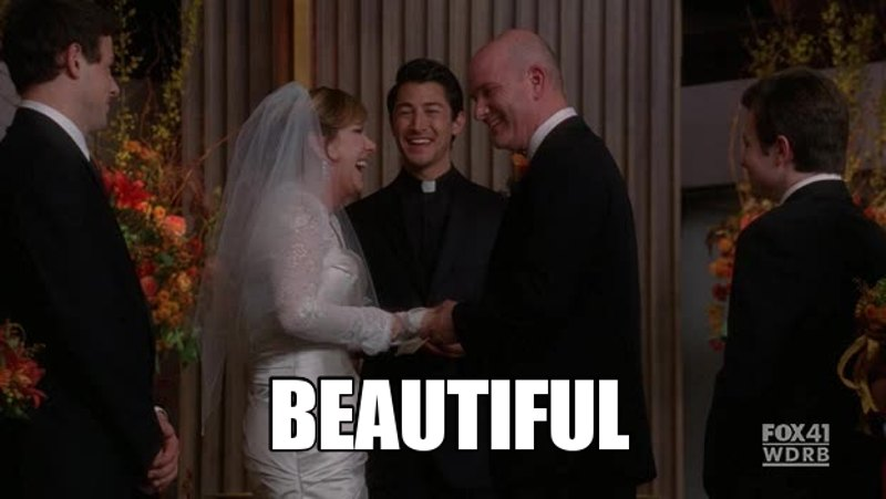 What a bunch of great speeches!! Burt and Carole's was so intense and touching. I felt good when I saw the union they have. I love emotional things!