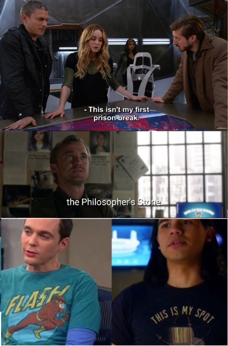 OH FLASH, YOU AND YOUR REFERENCES ❤️🙏