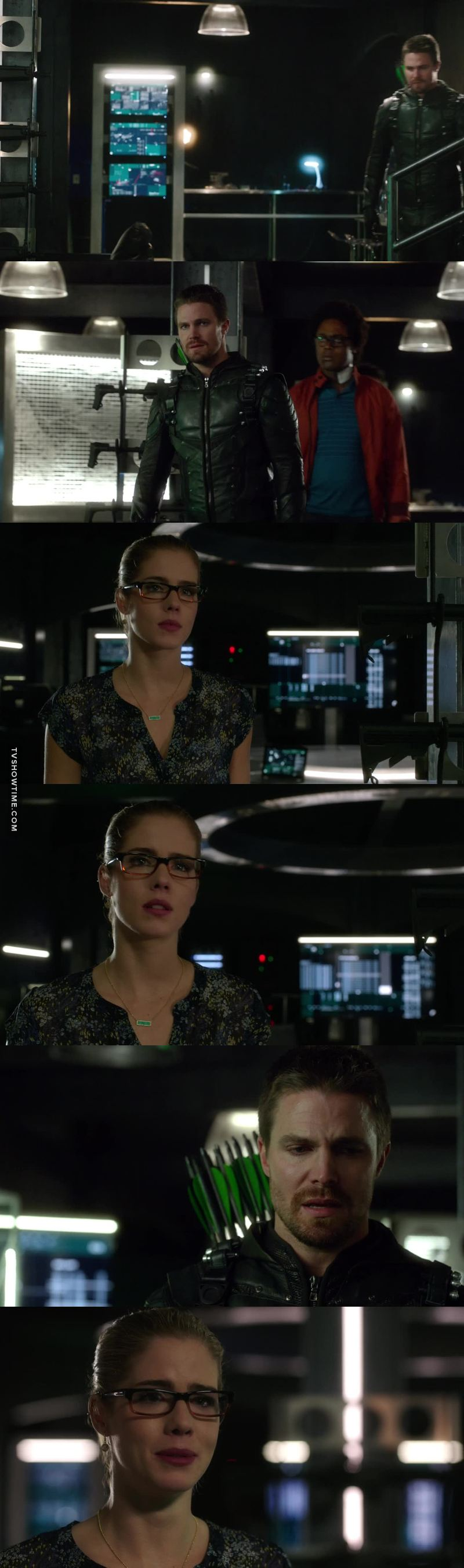 I was proud of Felicity for not blaming Oliver as badly as he blamed himself for Billy's death, and putting the spotlight on this Prometheus person. Also proud of Oliver for admitting the truth as soon as he had the opportunity.👏👏👏