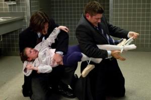 Nessa foto podemos ver claramente como seria se o Dean ou Sam tivessem uma filha.