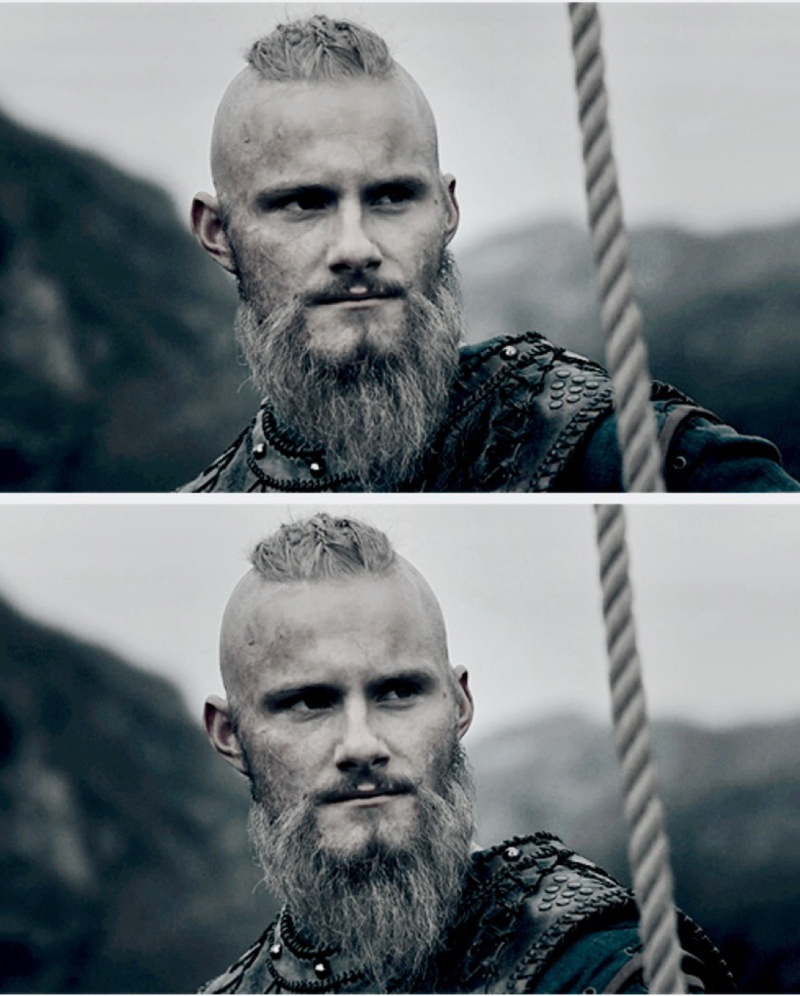 LOOK AT HIM GO. the rightful heir, the one and only, son of Ragnar and Lagertha, sailing off for conquests, facing his faith, braving defeats and drink in glory. he can only be a king.  all hail king björn.