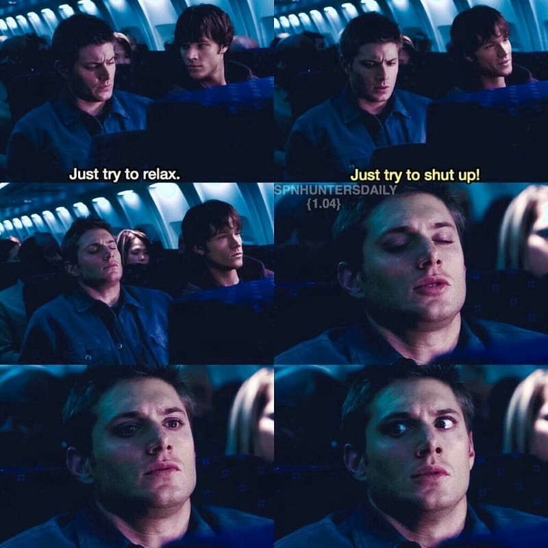 Haha poor Dean 😂😂