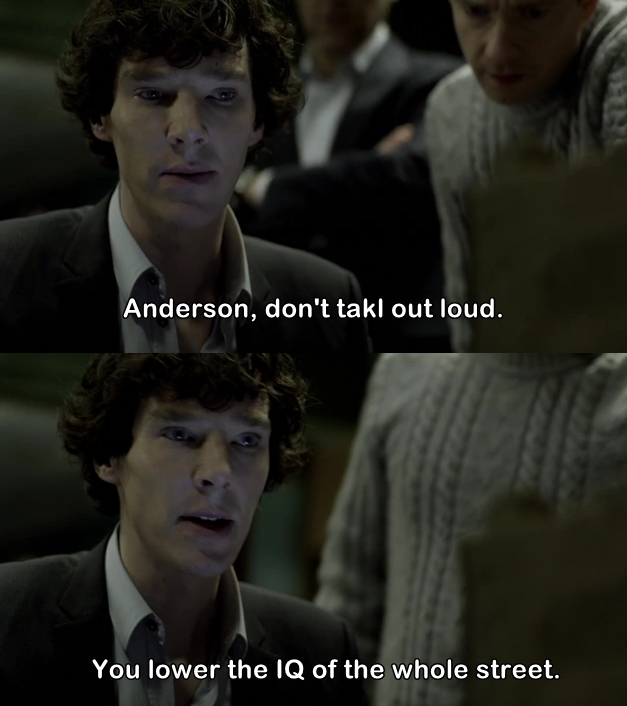 Why am I laughing so hard??  😂😂😂😂 Sherlock is amazing!
