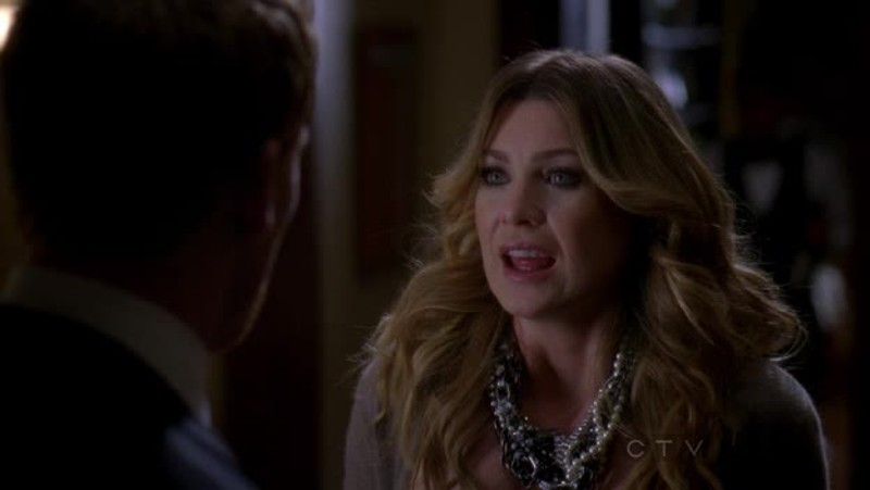 Meredith is breathtaking in this episode! :o