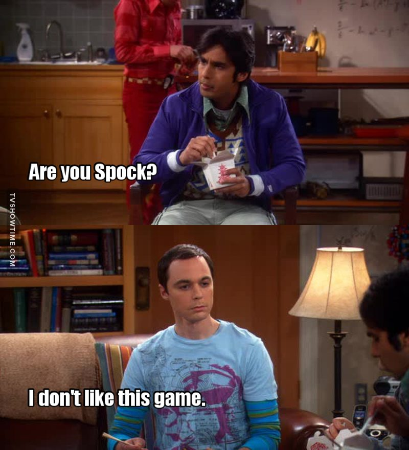 Sometimes, Sheldon is so predictable 😂