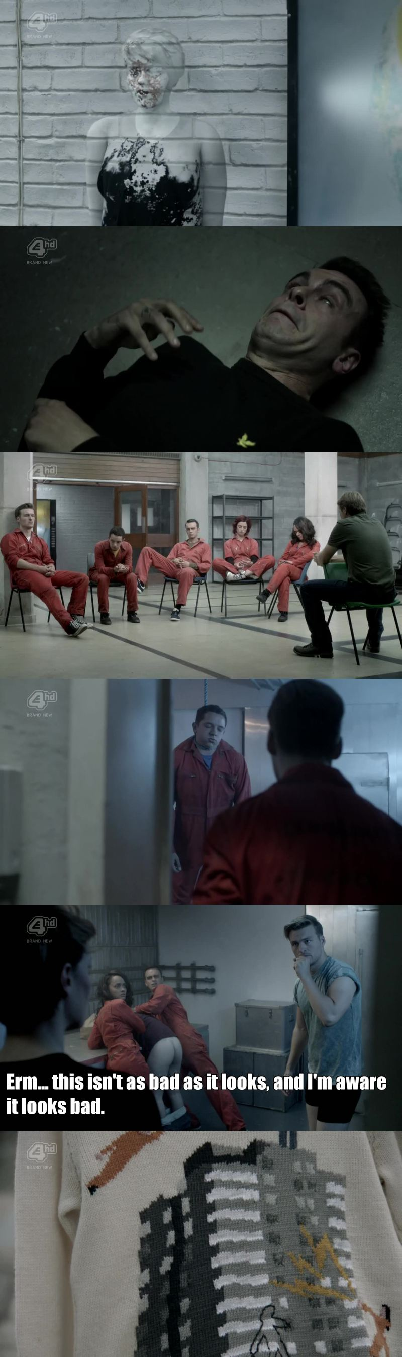 Now there are only two episodes, just now when the new gang'm starting to like is that the series will end and definitely not want it to end.  This was the season with the most fucking weird moments of entire series