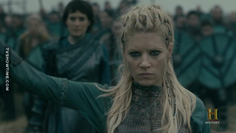 The real queen of kattegat is back!!!!!!