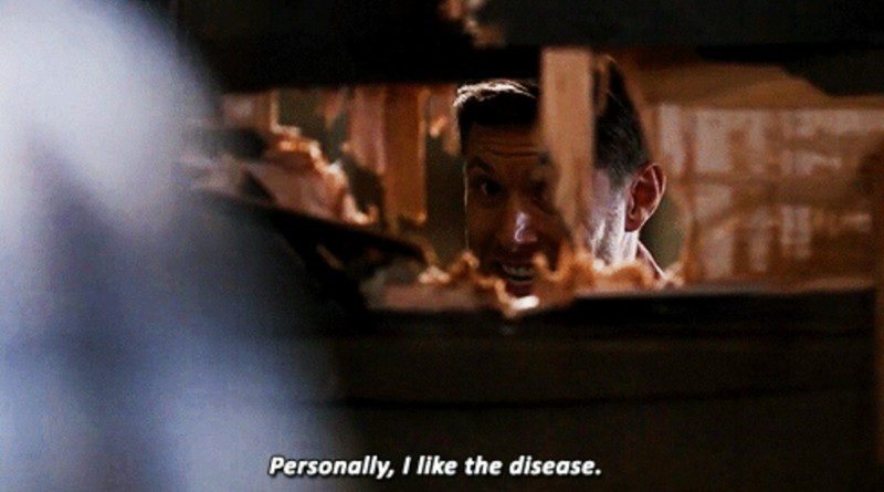 "Mom:""Your obsession with supernatural is sick!"" Me:"