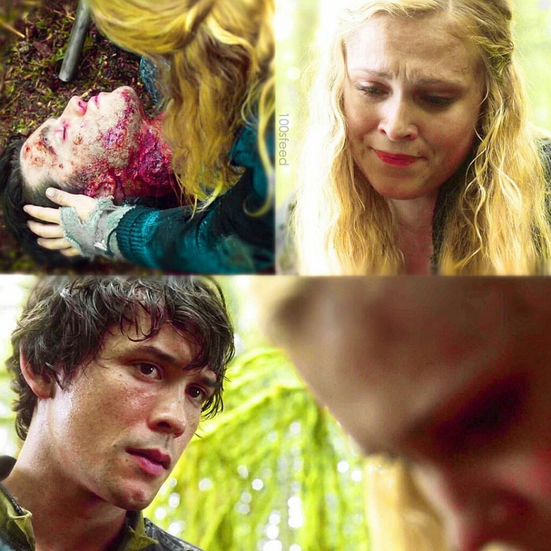 That look of his is how I got into the mess called Bellarke 🙃❤️