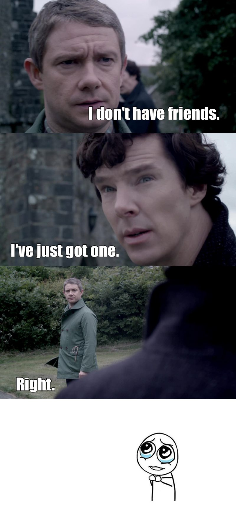 Too much #Johnlock feelings in that episode