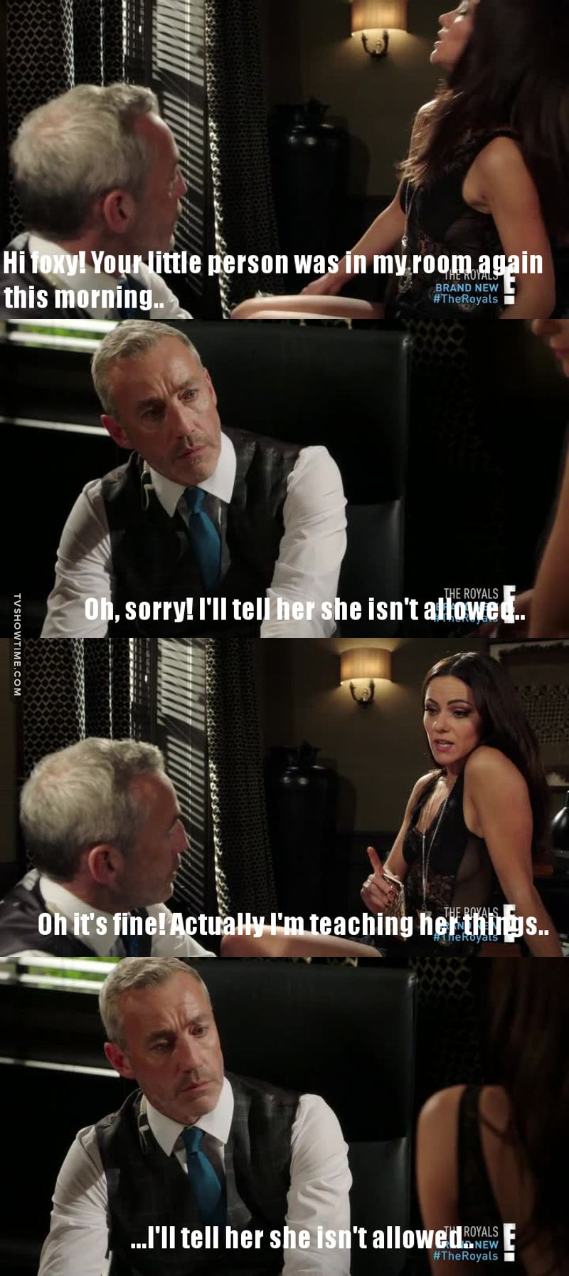 I totally love Mr. Hill....This scene was hilarious 😂😂
