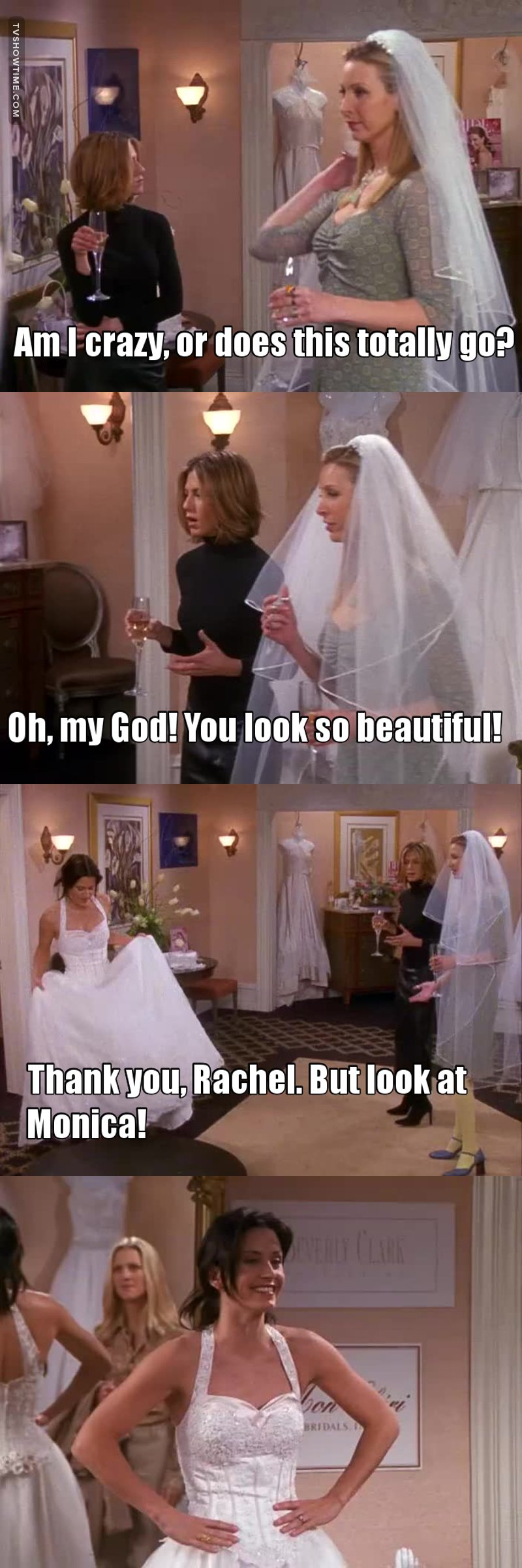 Tv Time Friends S07e17 The One With The Cheap Wedding Dress