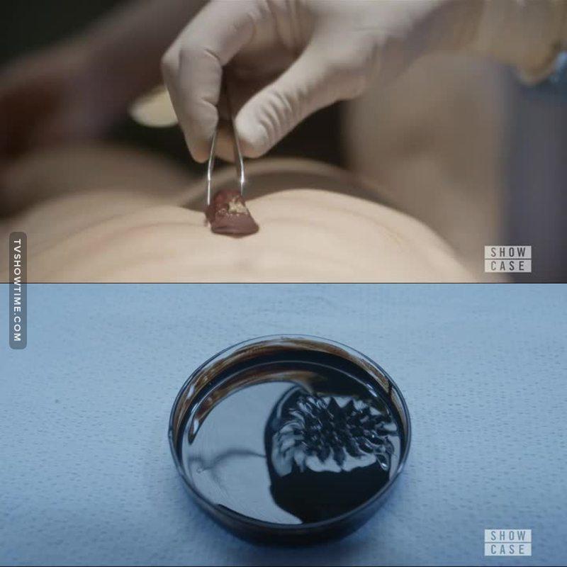 Un épisode en décalage avec le reste de la saison mais il permet notamment d'observer les moyens de la médecines du futur