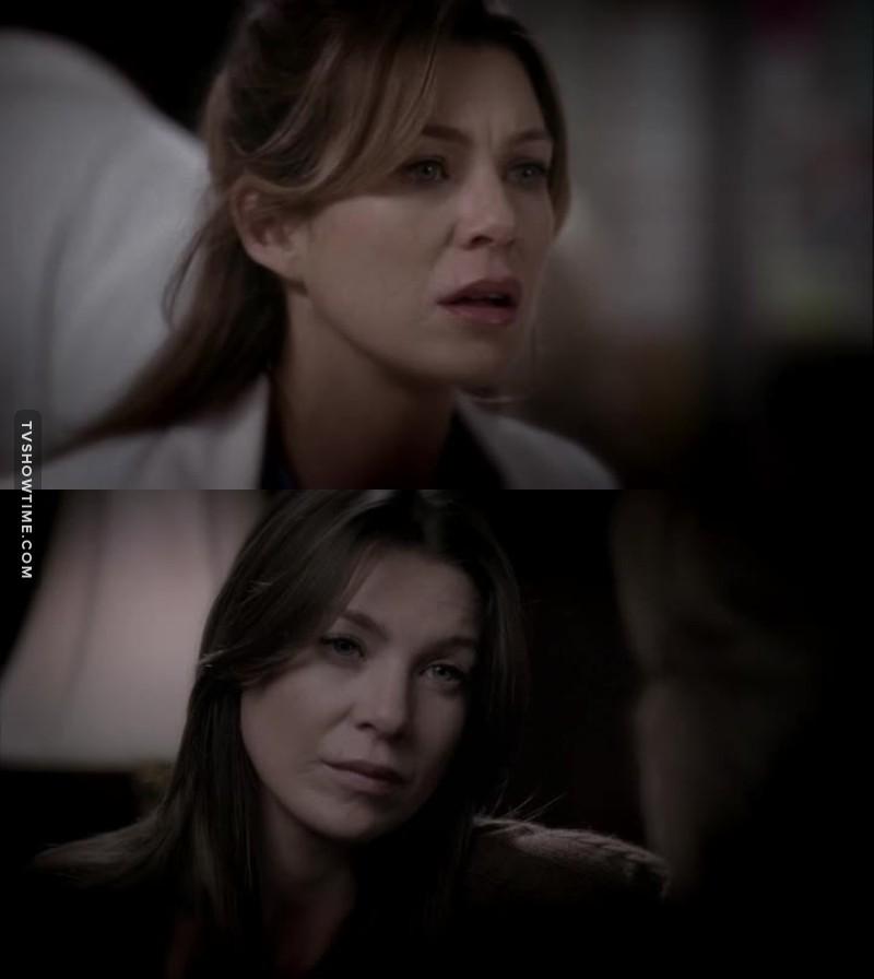 Meredith tava maravilhosa nesses flashbacks