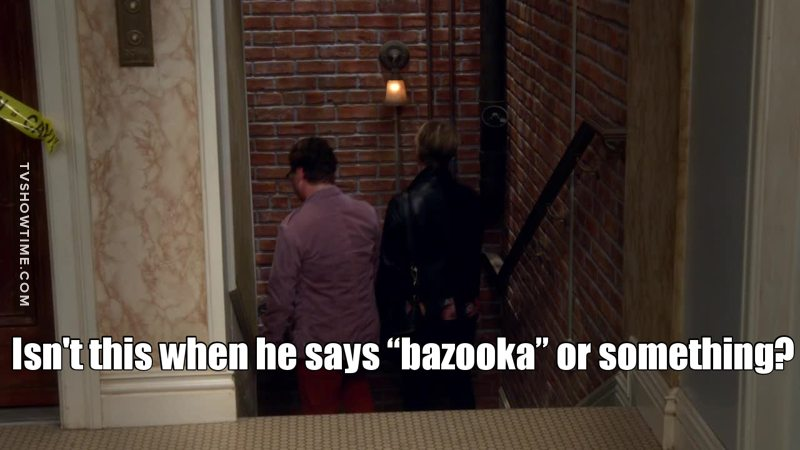 "This scene reminded me that it has been a long time since the last time Sheldon said ""Bazinga""... why doesn't he say it anymore ? 😔"