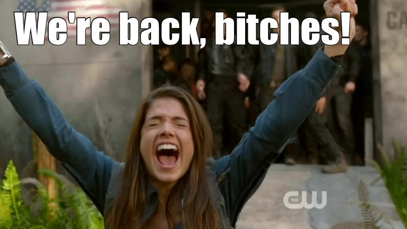 Good Lord, Octavia xD Best first words ever.