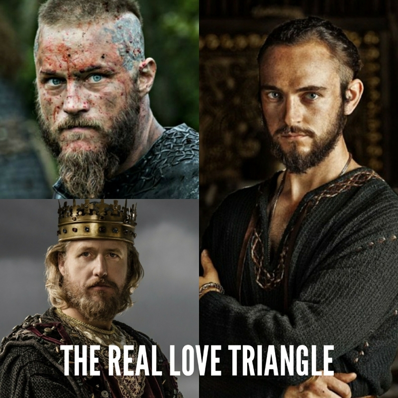 I think it's way too obvious by now, besides we all know Ragnar loves Lagertha. And this triangle is fair for me cause I love both Ragnar and Ecbert xD