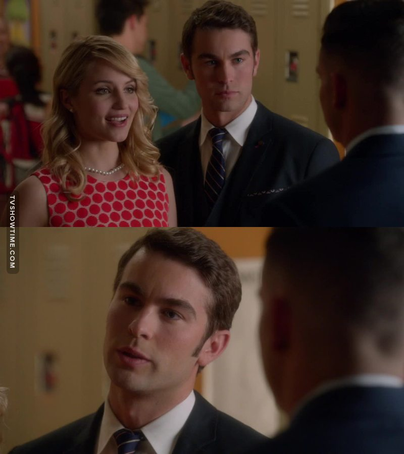 Well, Nate Archibald I love you, but no, go back to New York, you belong to Serena, as Puck belong to Quinn