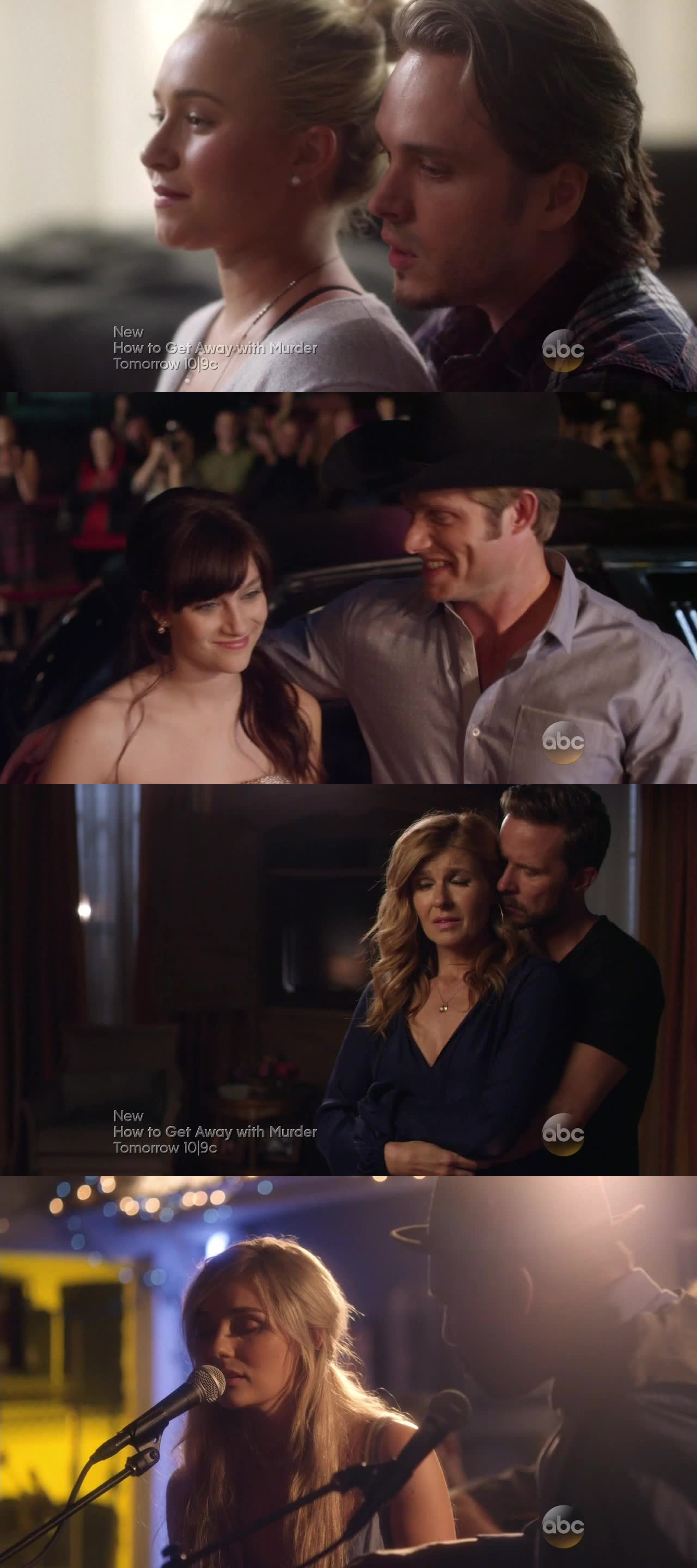 I love avery and juliette together!! They're so cute! rayna in this episode is truly selfish, she doesn't care nothing but her career!  I think Now she realized to be still in love with deacon!!  Lila here is totally different! I like her New way to be!  Scarlett's storyline is The worst ever!!! Why she's stil in nashville?!?!? So boring!