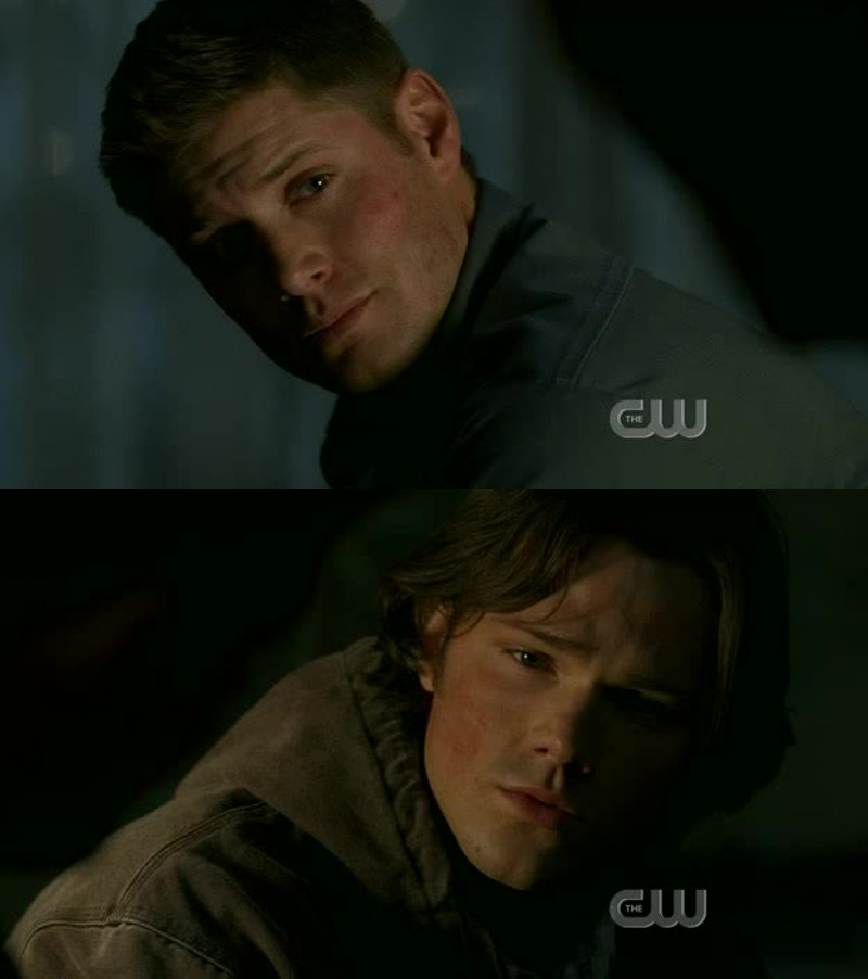 My heart breaks everytime Sam and Dean have a talk like this.