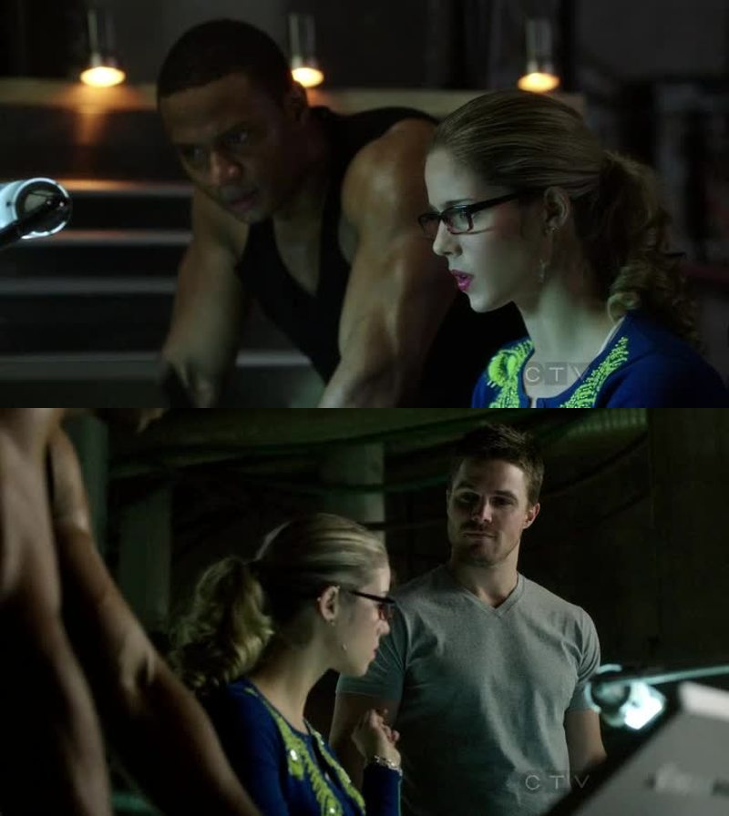 Will Oliver keep her hair secret???