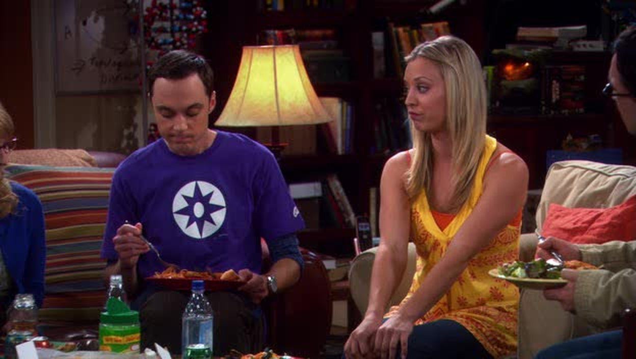 The relation between Sheldon and Penny are far more interesting than the ones with Leonard. We'll see where this goes :)