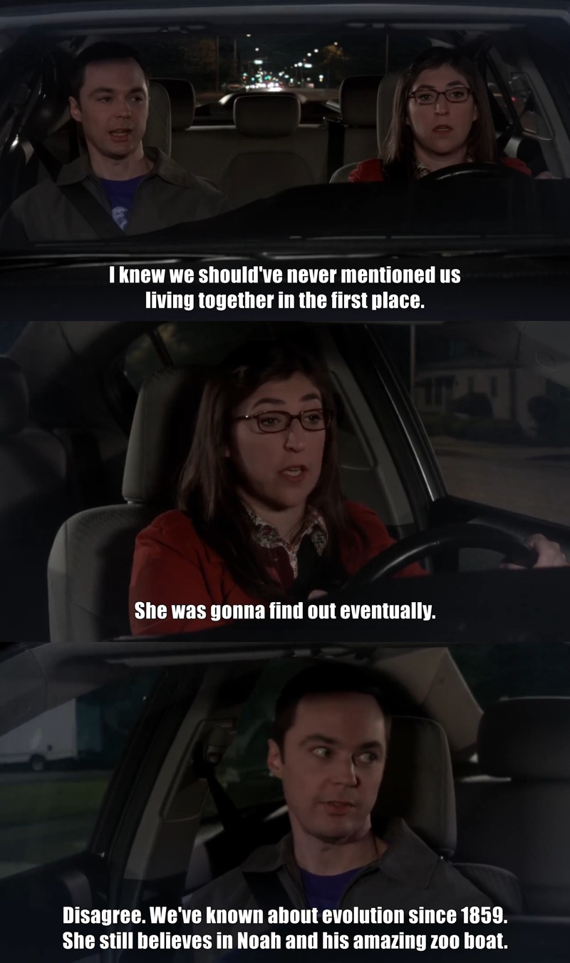 Sheldon was fantastic, as always 😄😄