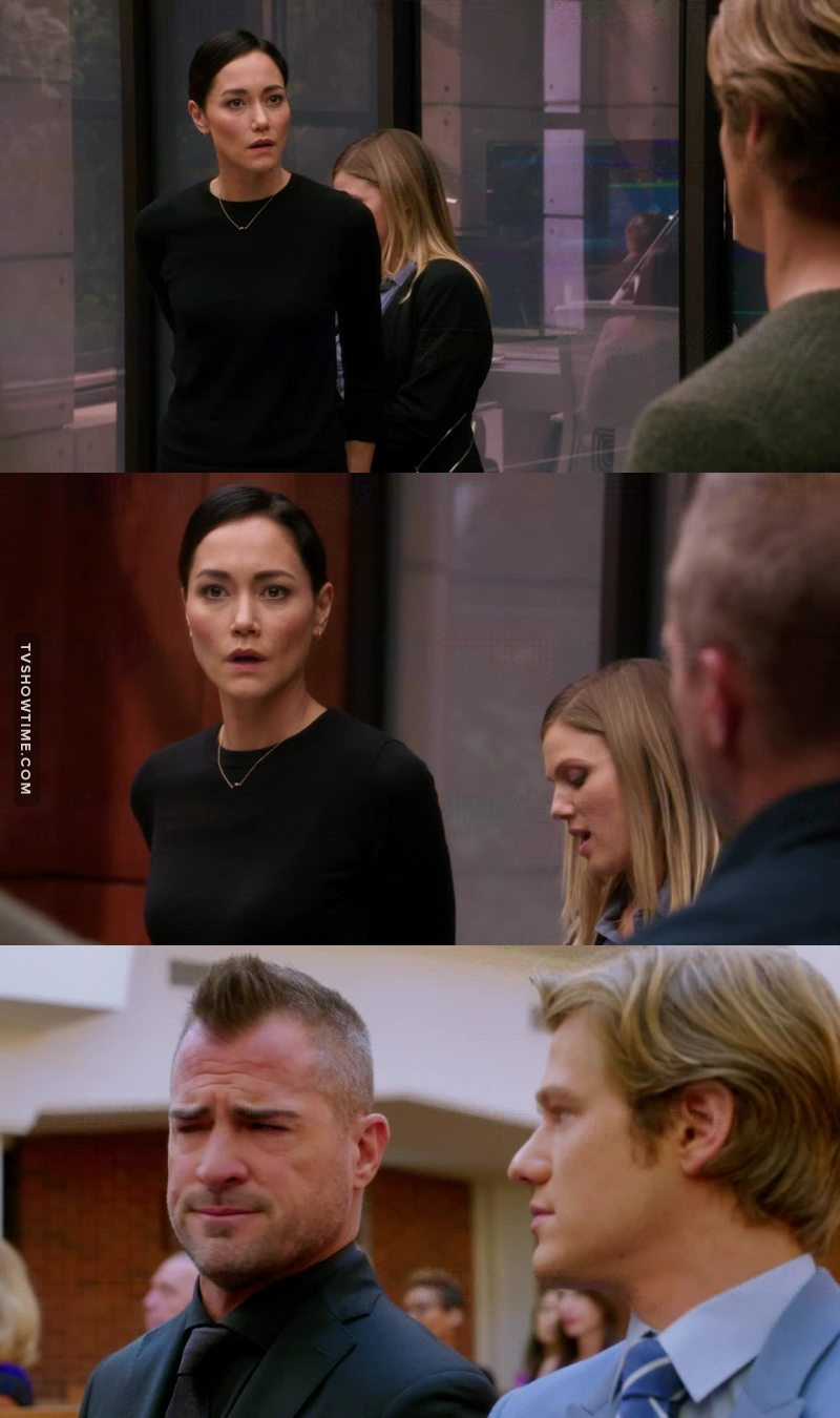 It's not Thornton. That was way, way too perfect. Although I do kind of wish she had protested her innocence. I suppose she looked more shocked that they'd ever think that if her. Hope she comes back soon. I like her.   Poor Jack. 😭  I wonder if the mole is Sarah...