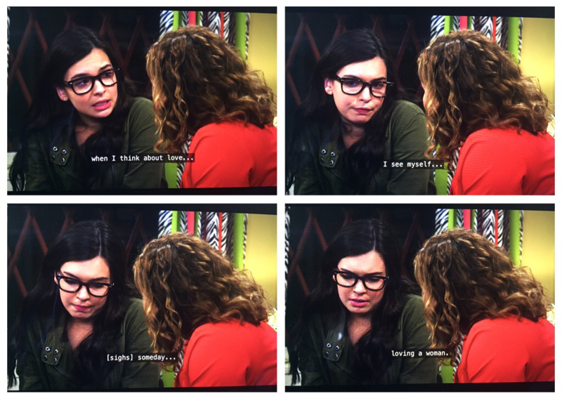 FINALLY!!! Aaww I've been waiting for that moment for so long (Ok 10 episodes I know! XD) But what Elena said to her mom... that's what I tell to myself when I came out to me... and everything was better after! 👭👩❤️👩👩❤️💋👩🏳️🌈