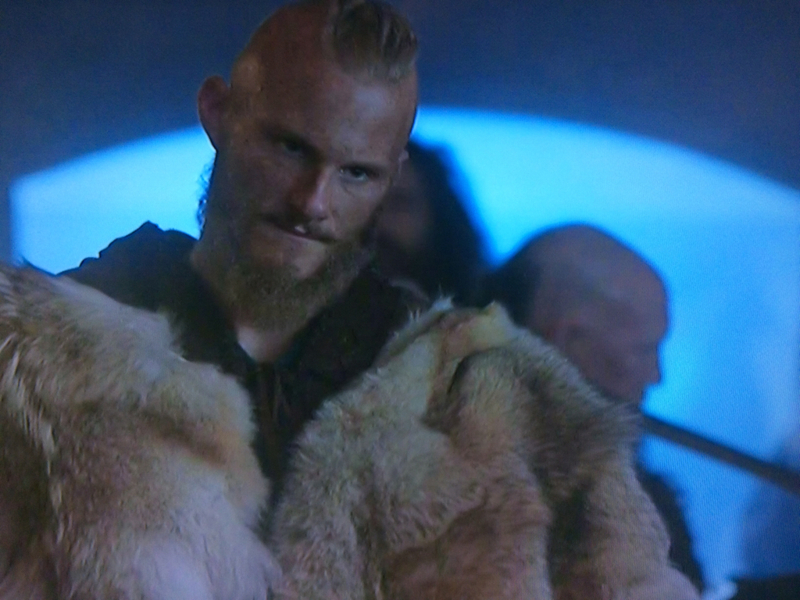 Bjorn:  If you kill her, my Brothers, you will have to kill me, too. Ivar:  Maybe we should. Ubbe:  Shut up.  Nice timing, Bjorn.  😆