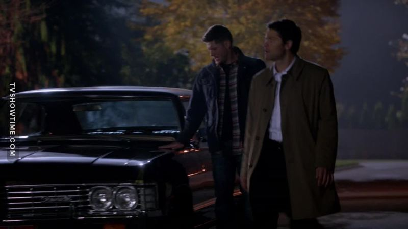 Find someone who touch you like Dean touches his baby