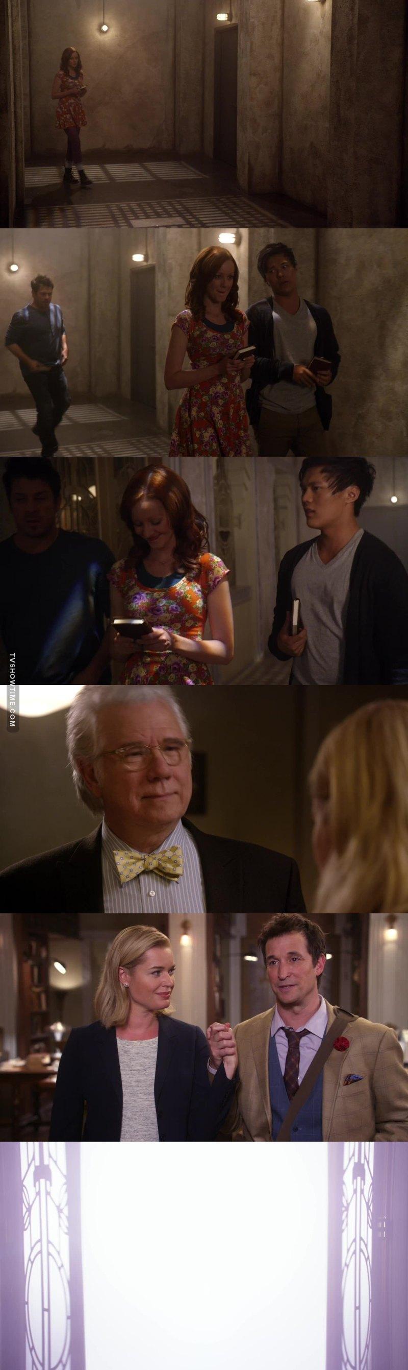 Questo episodio è stato un finale di stagione perfetto, ricco di colpi di scena e di tensione, l'ho adorato! Non vedo l'ora di vedere la prossima stagione *^*